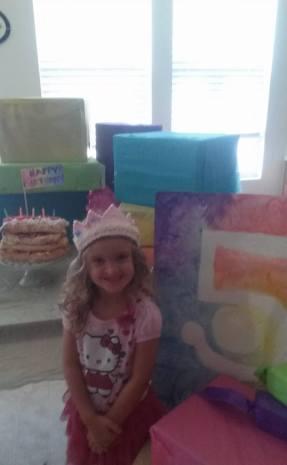 Kymee 5th Birthday